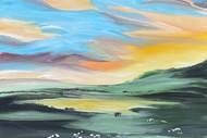 Paint and Wine Night - Farmland Sheep