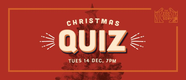 Zookeeper's Son Quiz - Christmas Edition