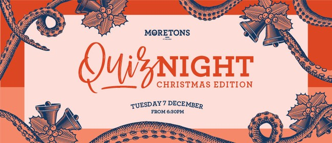 Moreton's Quiz - Christmas Edition
