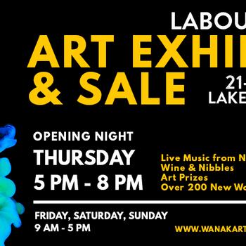Wanaka Arts Labour Weekend Exhibition Opening Night