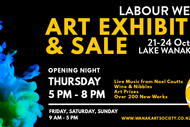 Image for event: Wanaka Arts Labour Weekend Exhibition Opening Night