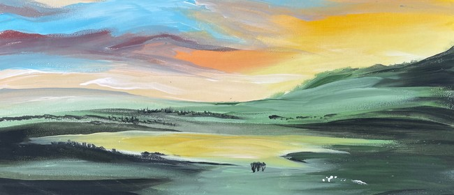 Paint & Wine Night - Farmland Sheep