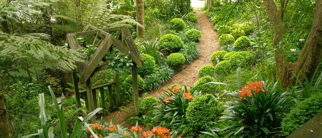 Gillies Garden-Art-House tour