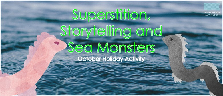 Sea Monsters - Holiday Activity