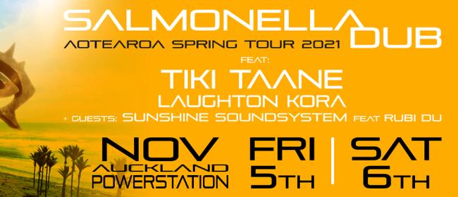 """Salmonella Dub """"Return To Our Kowhai"""" Spring Tour 21"""