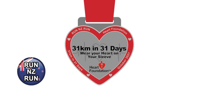Wear Your Heart on Your Sleeve - 31km in 31 Days