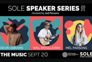 Image for event: THE MUSIC - SOLE Speaker Series