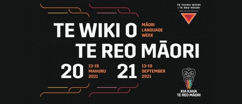 Te Wiki  O Te Reo Māori Term Time Activities