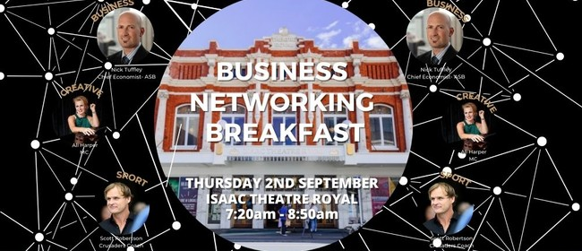 Theatre Royal Business Chamber - Networking Breakfast