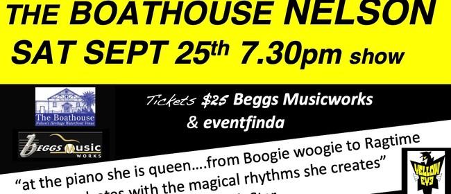 Jan Preston  Piano Boogie Woman  Trio Show