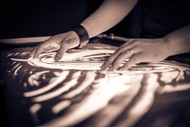 Image for event: THE SANDMAN Marcus Winter - Light, Sand & Sound Show