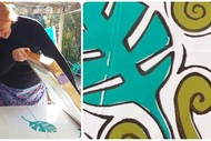 Screen Printing with a Tropical Twist Workshop