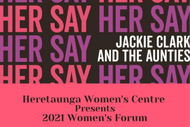 'Her Say' - Forum - With Jackie Clarke & the Aunties