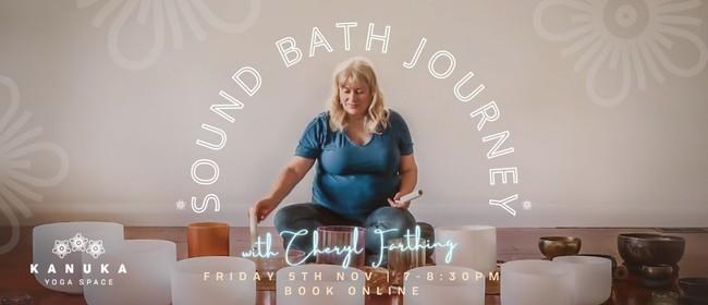 Sound Bath Journey with Cheryl Farthing