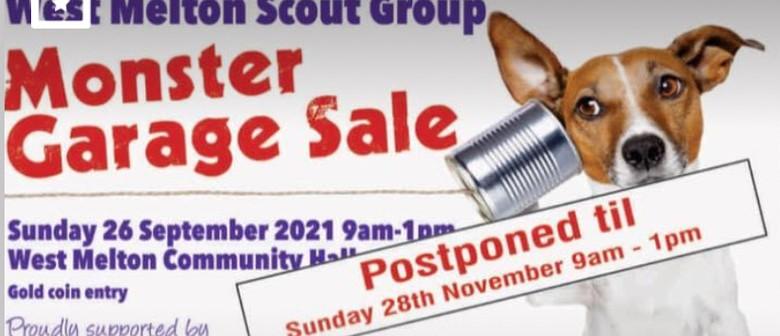 Monster Garage Sale for West Melton Scouts