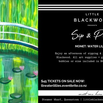 Sip & Paint: Monet Water Lillies
