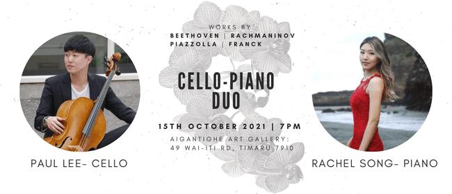 Cello-Piano Duo Concert: Paul Lee & Rachel Song: POSTPONED