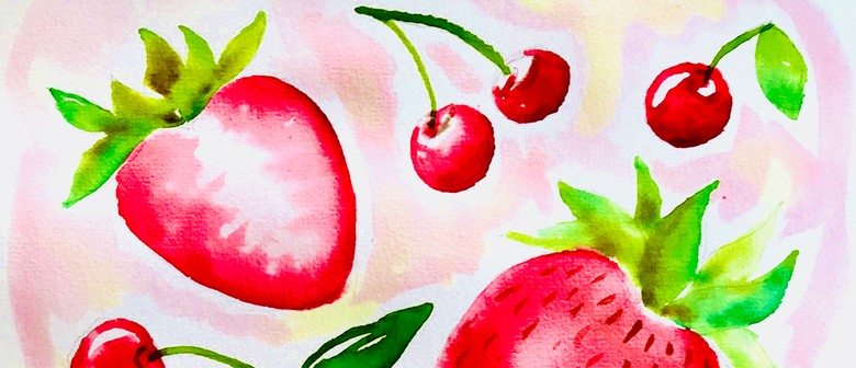 Watercolour & Wine Afternoon - Summer Fruit