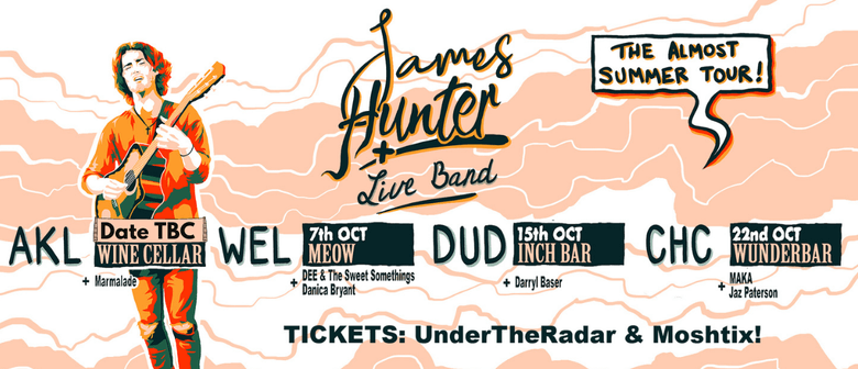James Hunter - The Almost Summer Tour