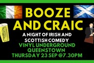 Image for event: Booze and Craic - A Night of Irish and Scottish Comedy