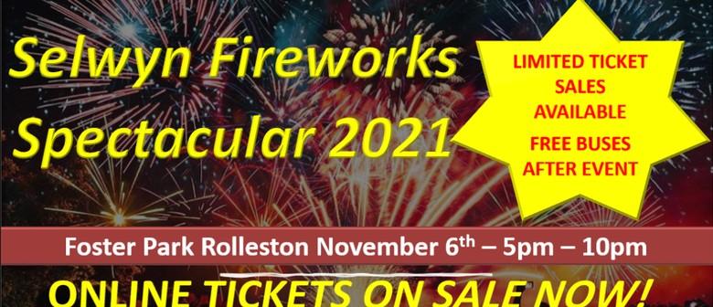 Selwyn Fireworks Spectacular