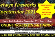 Image for event: Selwyn Fireworks Spectacular