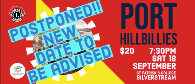 Port Hillbillies - Silverstream, Upper Hutt: POSTPONED