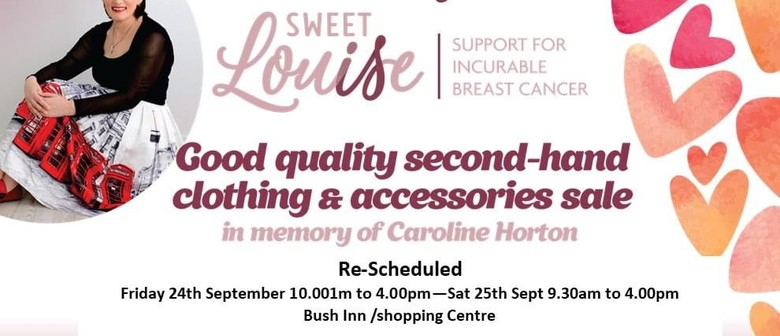 Sweet Louise - Fundraiser: RE-SCHEDULED