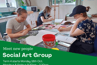Image for event: Social Art Group