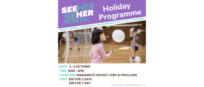 SeeHerBeHer Holiday Programme