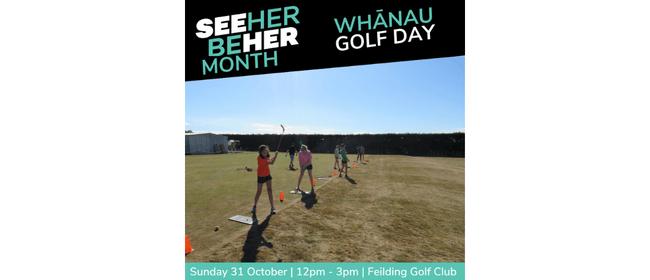 Whānau Golf Day