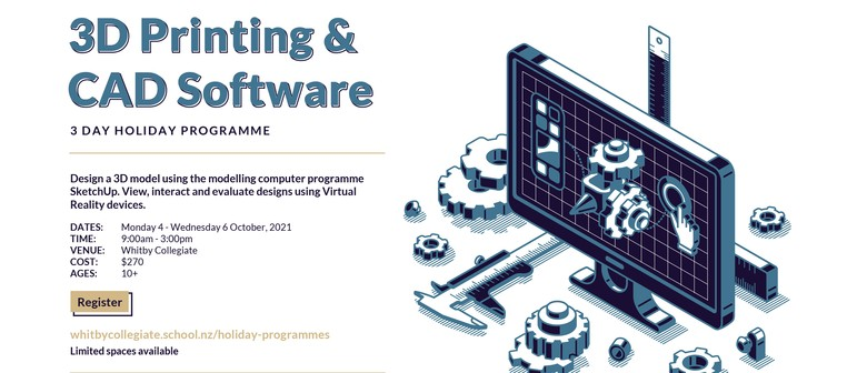3D Printing & CAD Software Holiday Programme