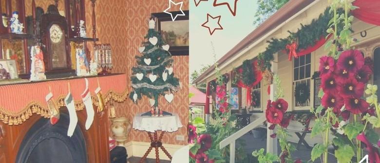 The Village Christmas at Twilight