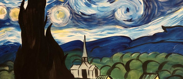 Paint & Wine Afternoon - A Starry Night