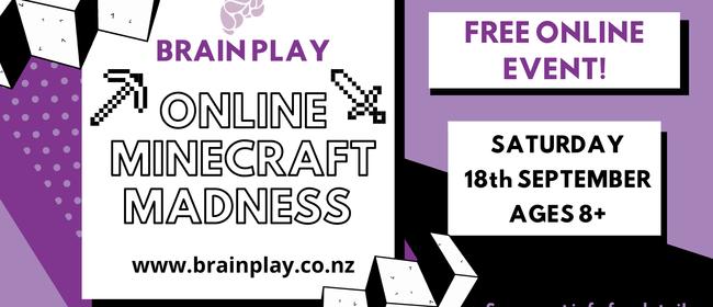Brain Play - Online Minecraft Madness Event