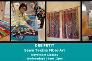 Art Collective Project - Sewn Textile Fibre Artist Dee Petit