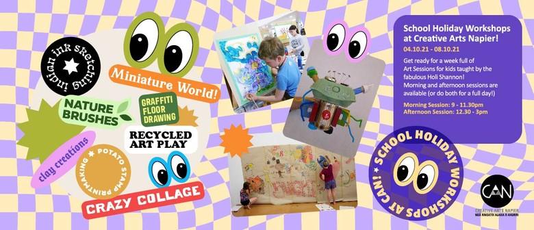 Children's Holiday Art Workshops