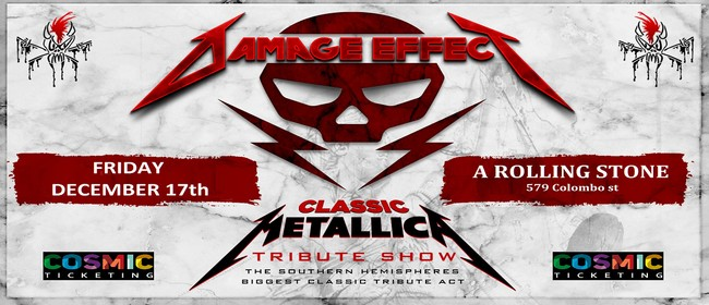 Damage Effect - Classic Metallica Tribute Show