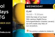 School Holiday @ MTG - Clay