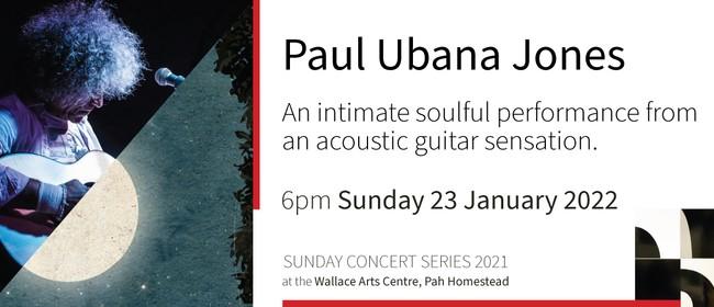 Sunday Concert Series: Paul Ubana Jones