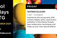 School Holiday @ MTG - Watercolours