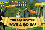 Image for event: Have A Go Day - New Warren Park Disc Golf Course