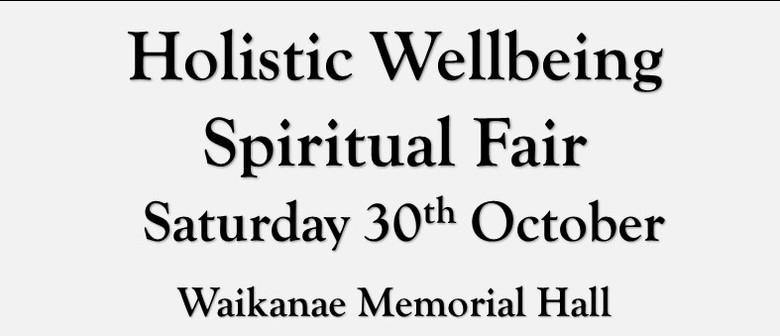 Waikanae Holistic Wellbeing Spiritual Fair