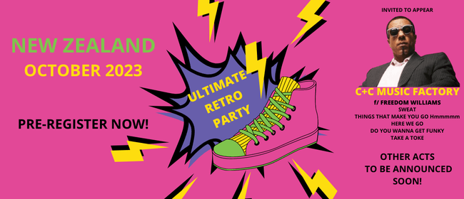 Ultimate Retro Party 2023 (Pre-Registration)
