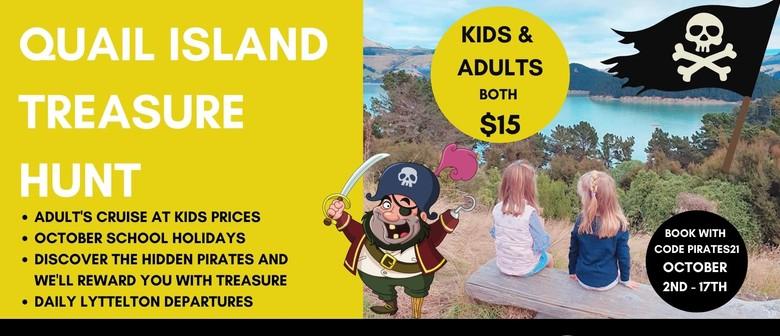 Quail Island Pirate Treasure Hunt