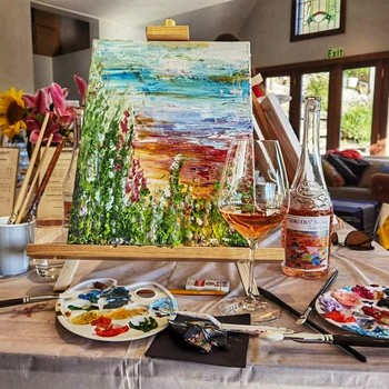 Wine and Paint Retreat