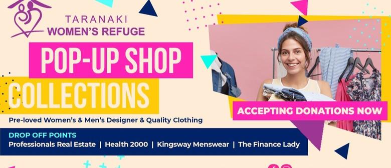 Taranaki Women's Refuge Pop-up Shop 2021