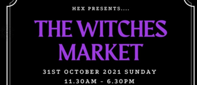 The Witches Market 2021 Oct 31st