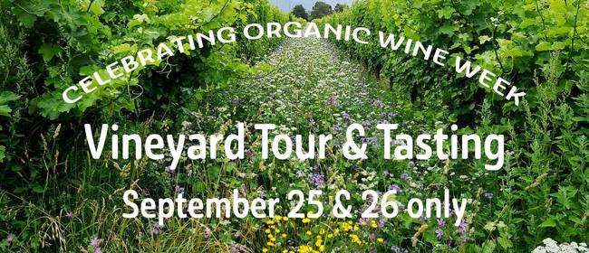 Organic Wine Week & Vineyard Tour