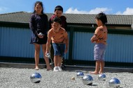 Gisborne Pétanque Junior Mixed Singles - 7 to 8 years old